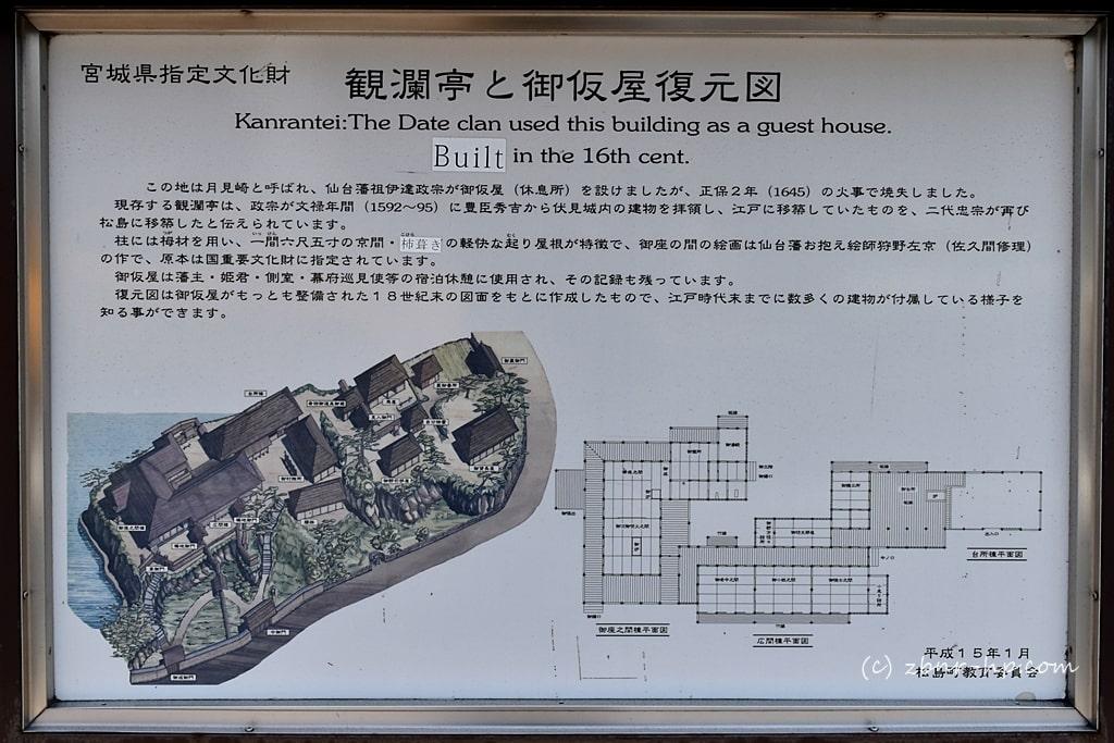 観瀾亭 松島