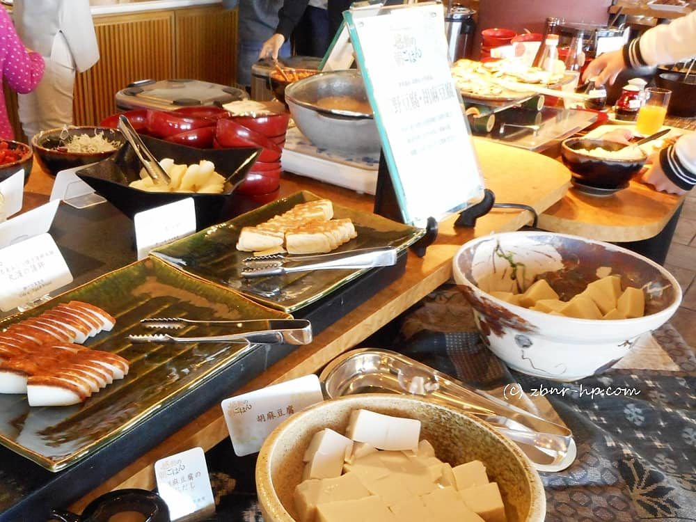 イタリアンレストラン「カーロ・エ・カーラ」で朝食ブッフェ